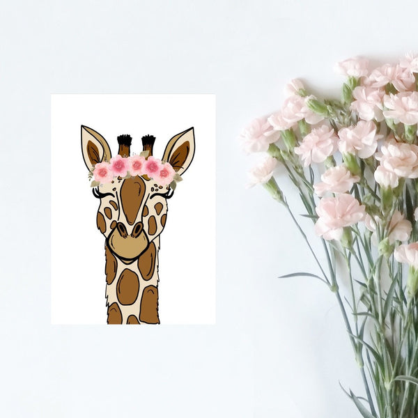 Card - Giraffe Card