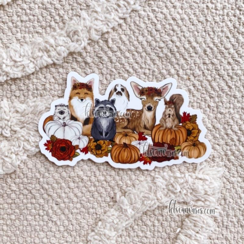 Fall Babies Sticker