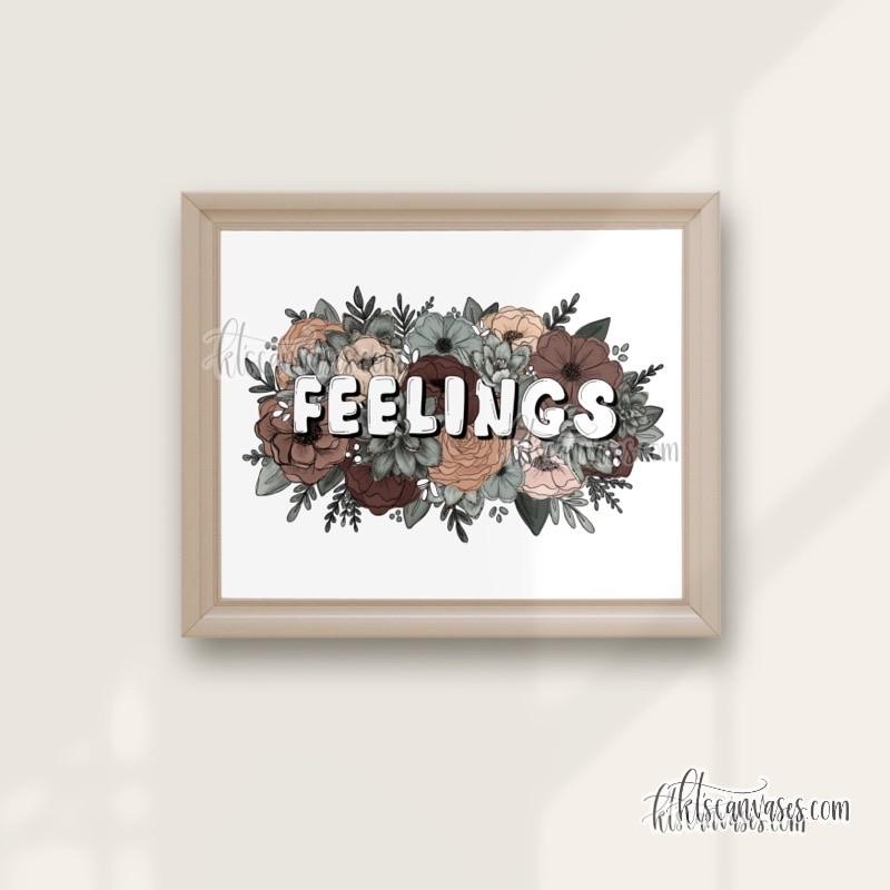 Floral Feelings Art Print
