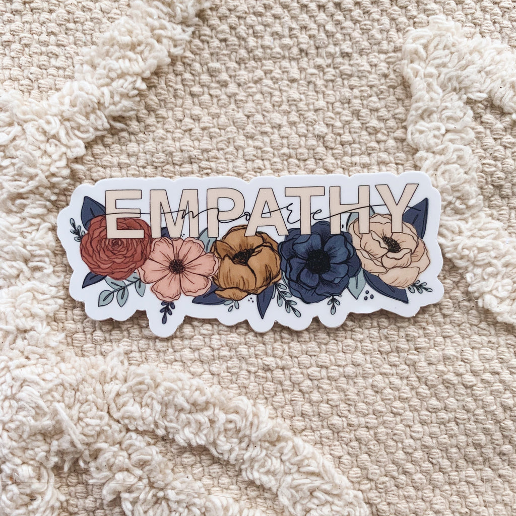 More Empathy Sticker