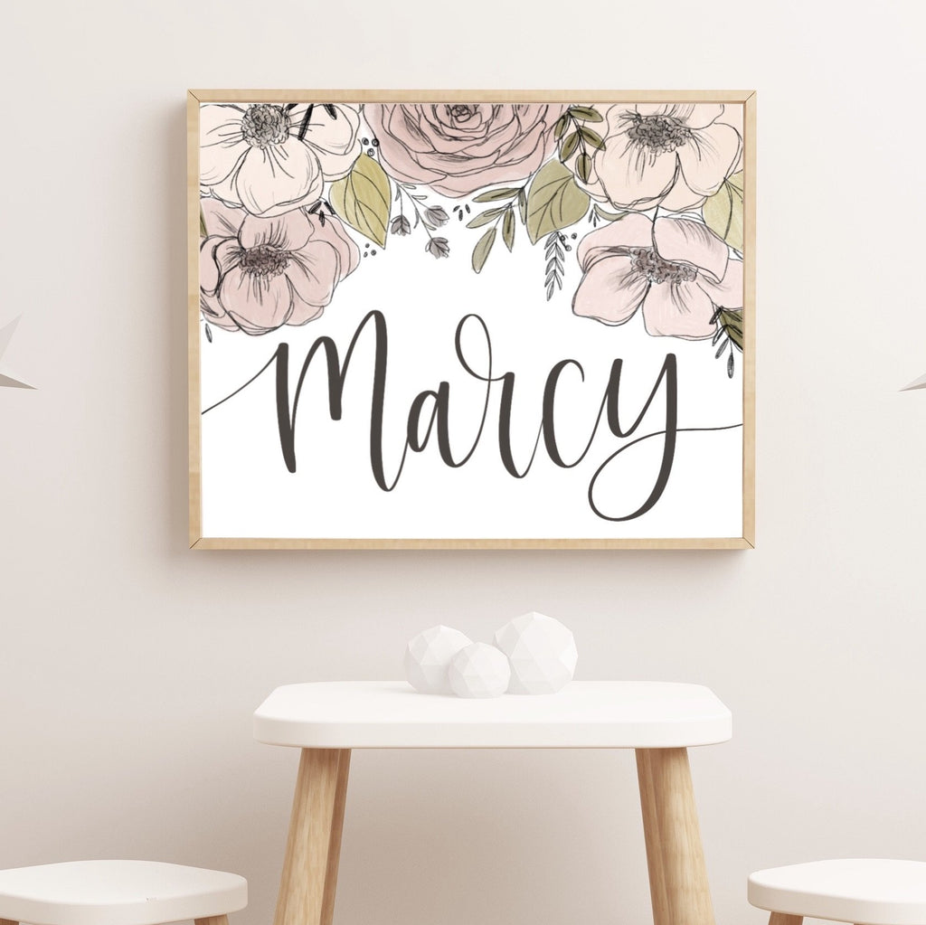 Personalized Name Art Print