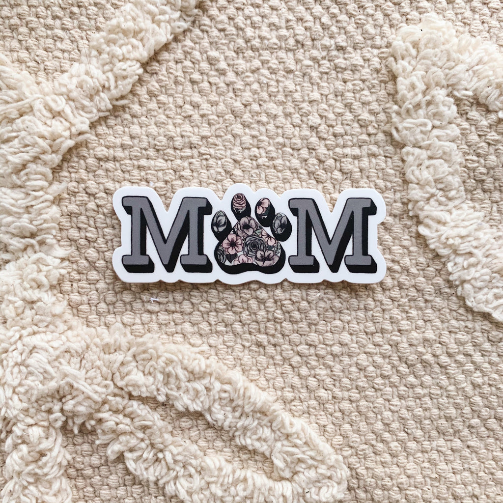 Dog/Cat Mom Sticker