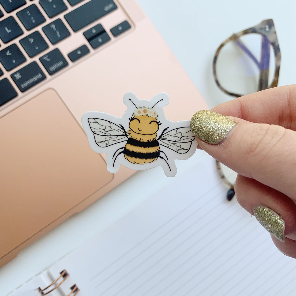 Mini Bee Sticker