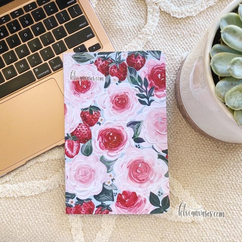 Fruit Florals LINED Notebook