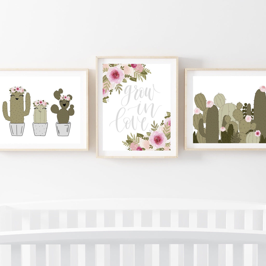 Cactus Set of 3 Art Prints