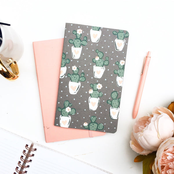 Notebook - Floral Cactus Notebook
