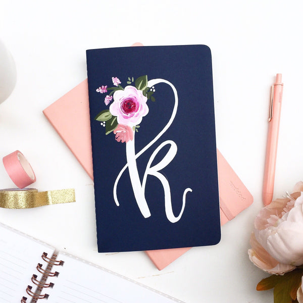 Notebook - Monogram Journal