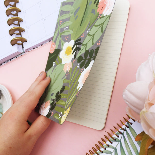 Notebook - Tropical Floral Notebook