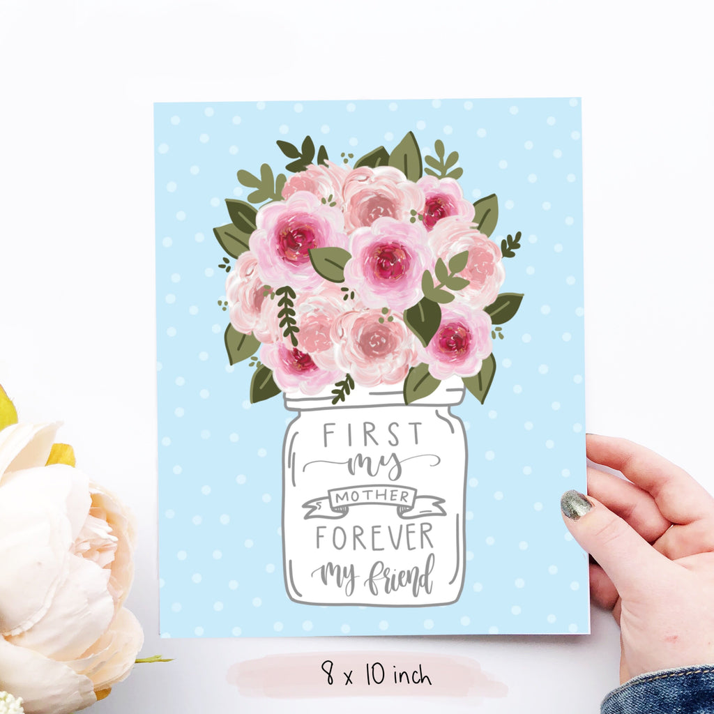 Print - First My Mother Art Print