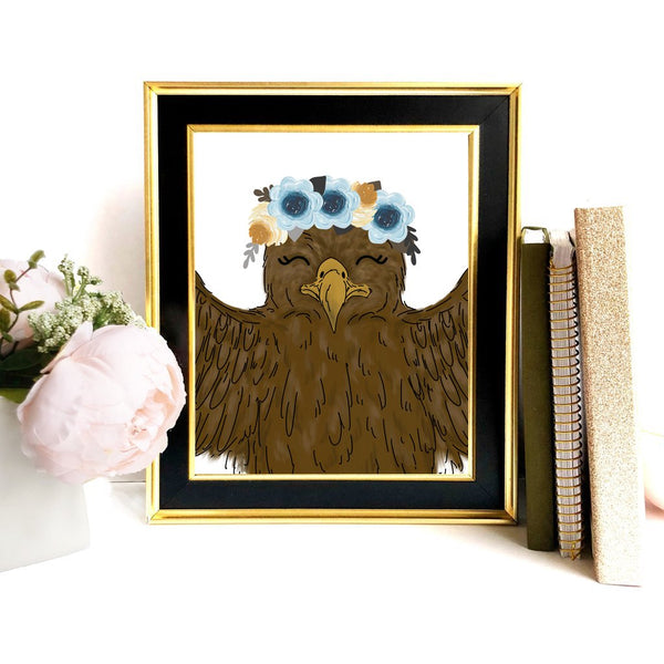 Print - Magical Eagle Art Print