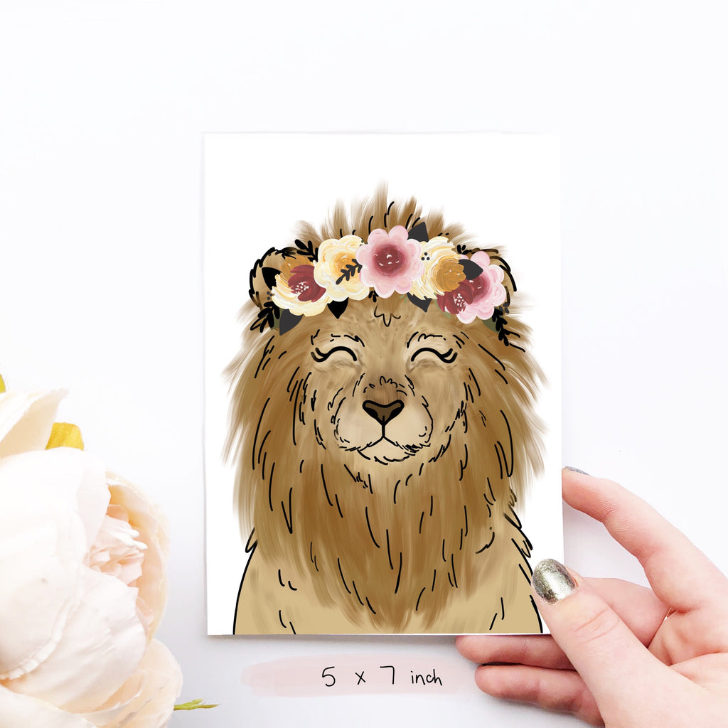 Print - Magical Lion Art Print