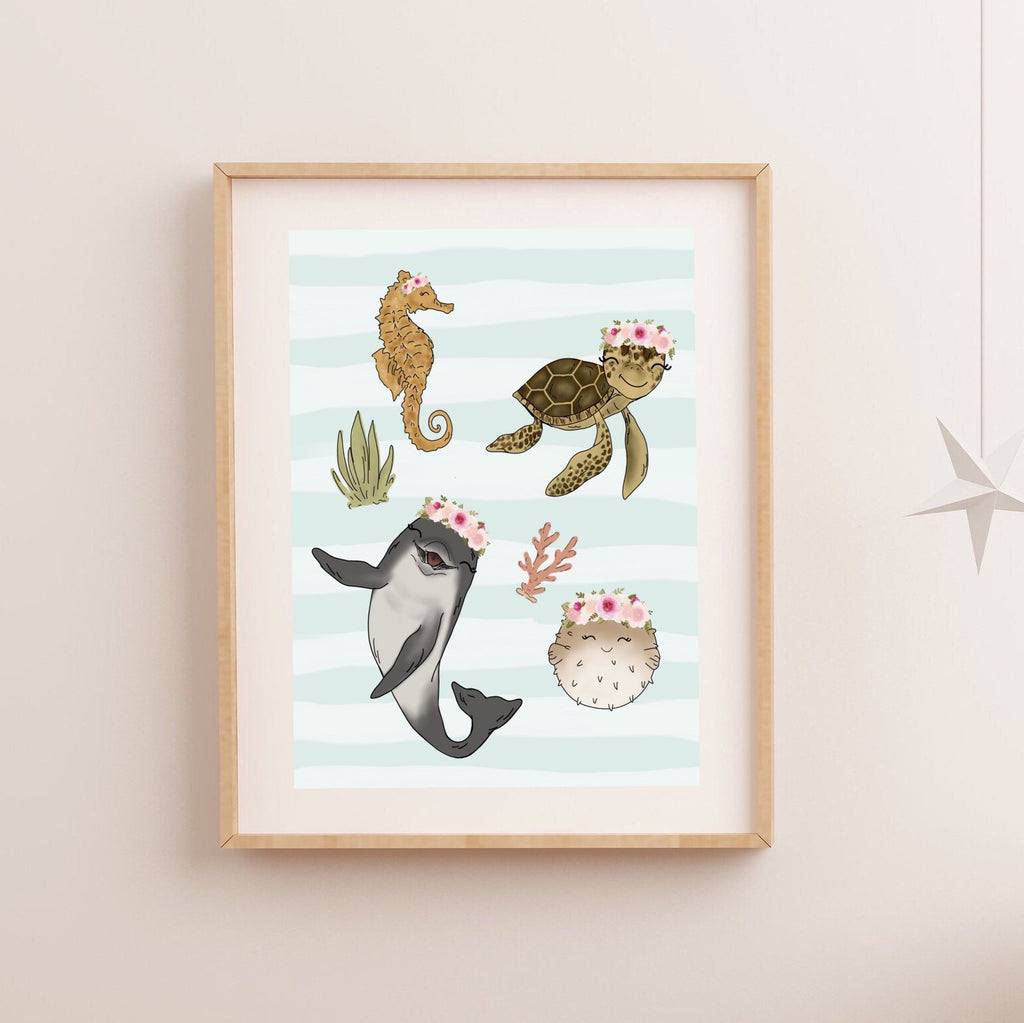 Print - Sea Friends Art Print