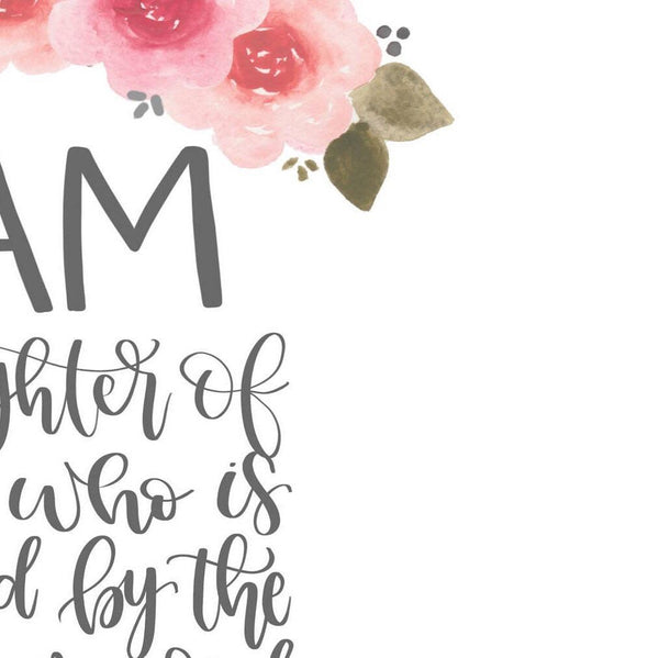 Printable Art Prints - I Am His Printable Art Print