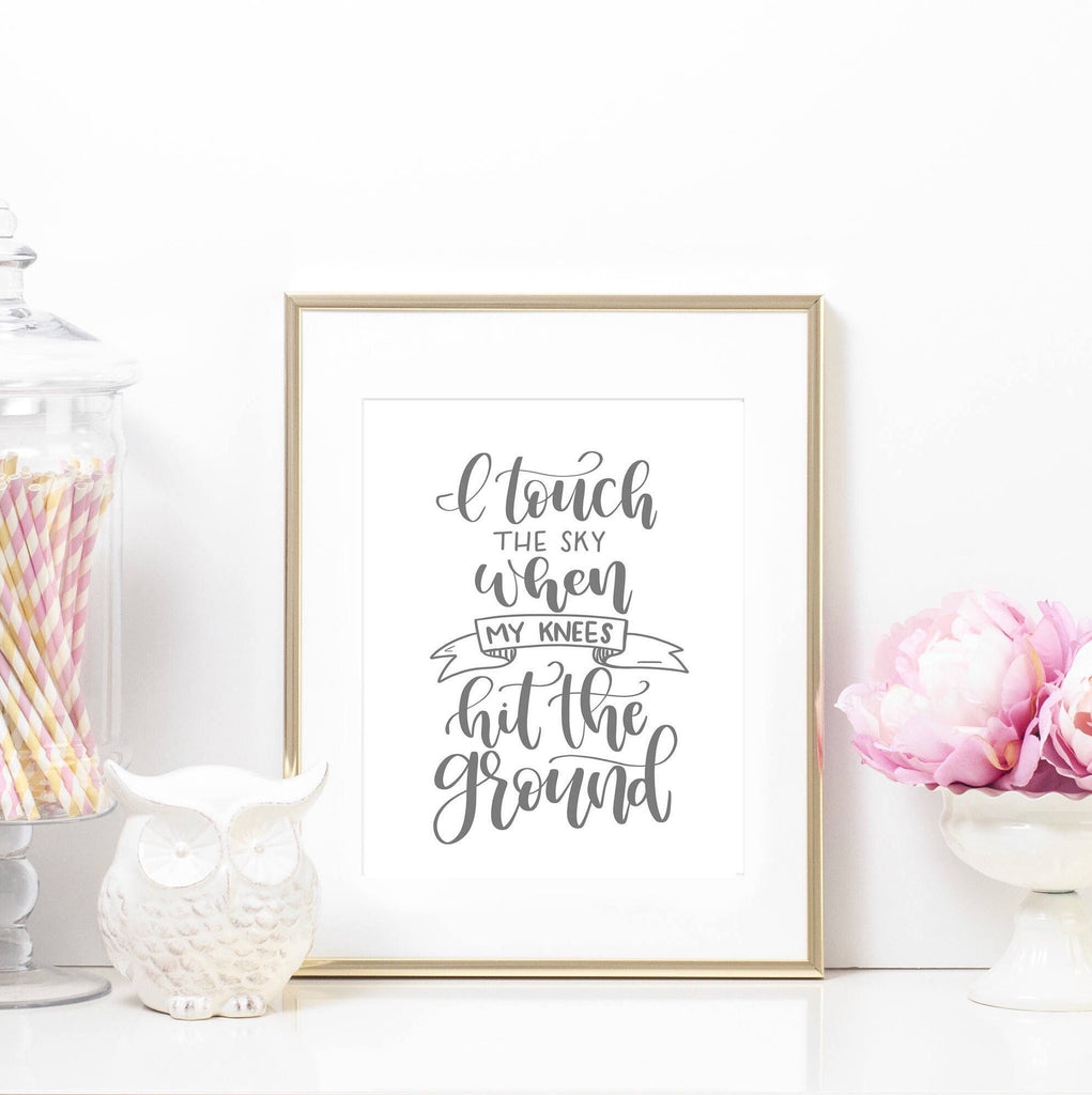 Printable Art Prints - Touch The Sky Printable Art Print