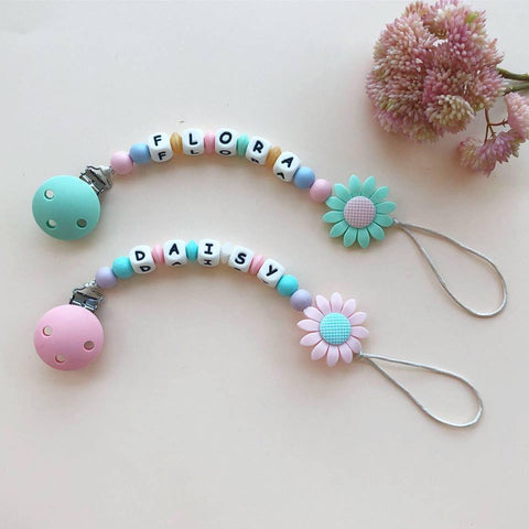 Personalized Pacifier Clip , Necklace & Key Chains