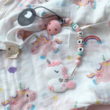 Unicorn Muslin Swaddle