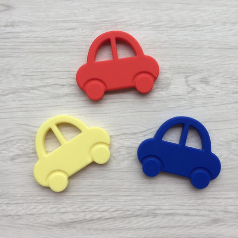 Mr. Bean Car Teething Toy