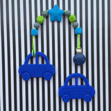 Mr. Bean Car Teether (Blue)