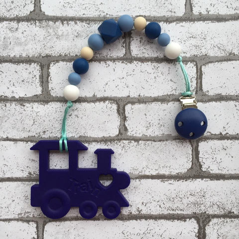 Choochoo Train Teether (Navy)