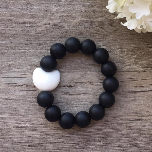 Kids Teething Bracelet - Amelia (Black)