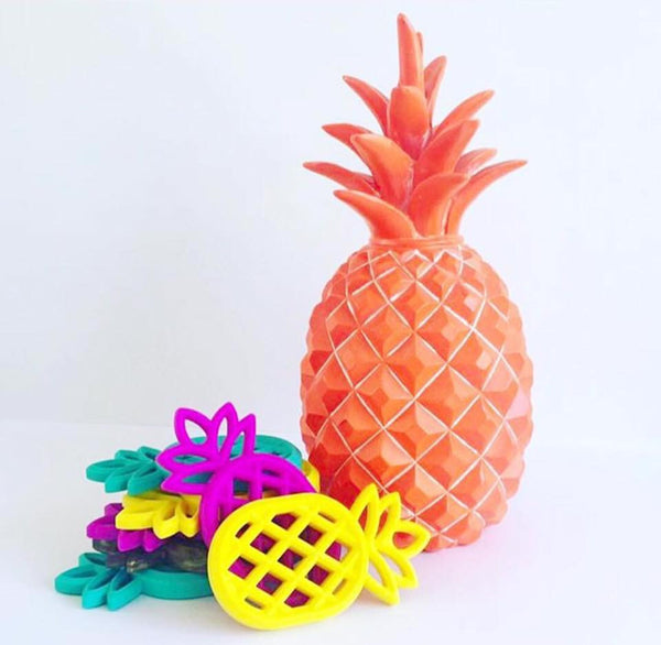 Pineapple Teether (Yellow)