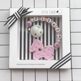 Personalized Pony Teether (Pink)