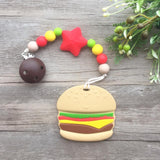 Hamburger Teether