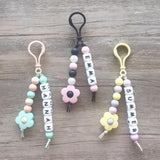 Little Daisy Personalized Key Chain