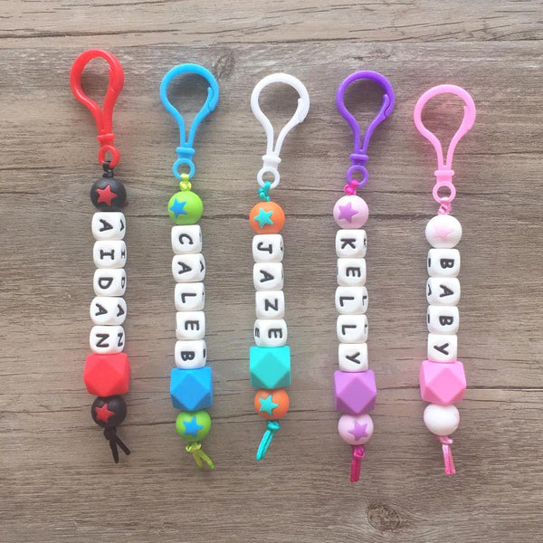 Back to School Personalized Key Chain