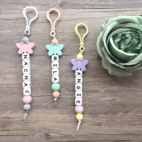 Butterfly Personalized Key Chain