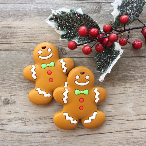 Christmas Gingerbread Man Teething Toy (Limited Edition)