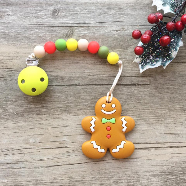 Christmas Gingerbread Man Teether (Limited Edition)