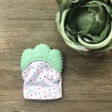 Baby Dot Teething Mitten