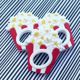 Personalized Popcorn Teether
