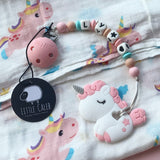 Personalized Unicorn Teether