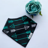 Dinosaur & Arrow Bib Set