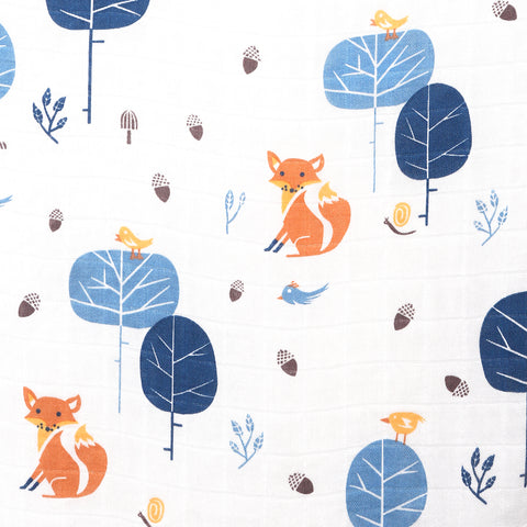 Willy Foxy Muslin Swaddle