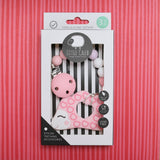 Hedgehog Teether (Pink)