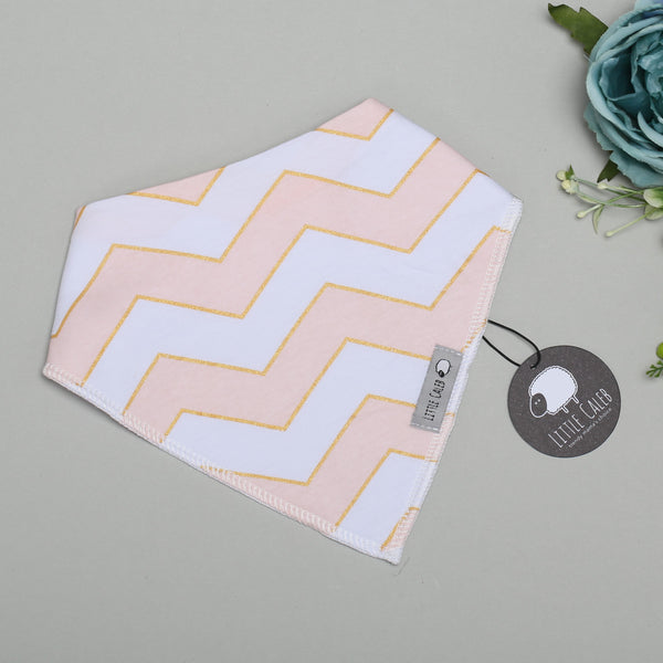 Pink Stripes Bib