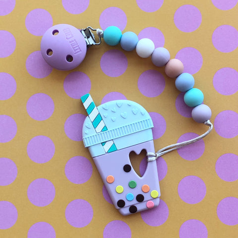 Bubble Tea Teether(Taro)