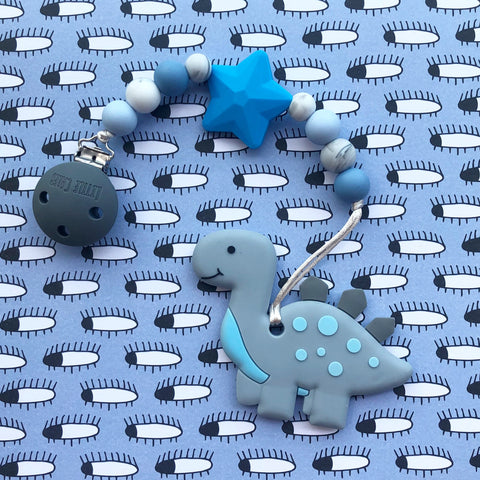 Cute Dinosaur Teether(Grey)