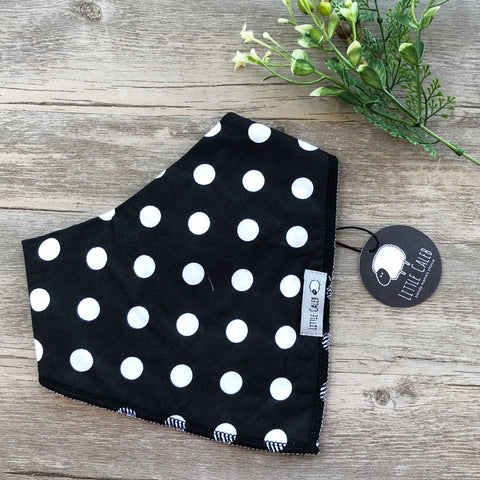 White Dots Bib
