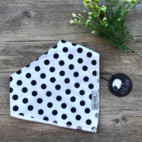 Black Dots Bib