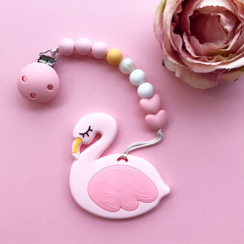 Flamingo Teether