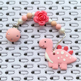 Cute Dinosaur Teether(Pink)