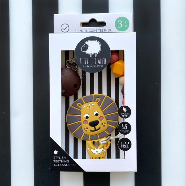 【PRE-ORDER】Lion Teether