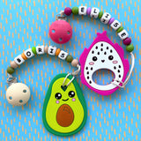 Personalized Dragon Fruit Teether