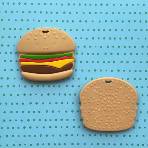 Hamburger Teething Toy