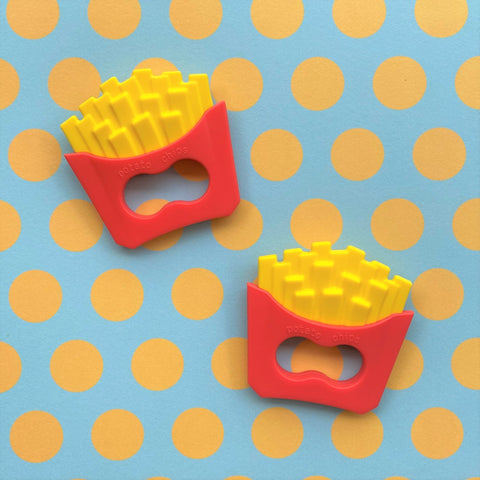 French Fries Teething Toy