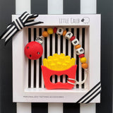 Personalized French Fries Teether